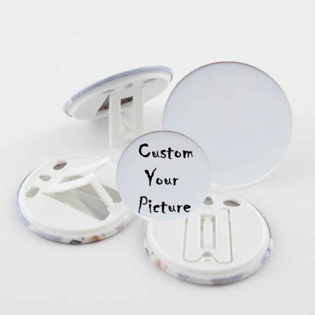 58MM badges like card photo frame photo studio photographic supplies without pins 100 sets