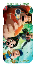 2015 hybrid Wreck-It Ralph white hard cases for samsung galaxy s4 i9500 Free Shipping