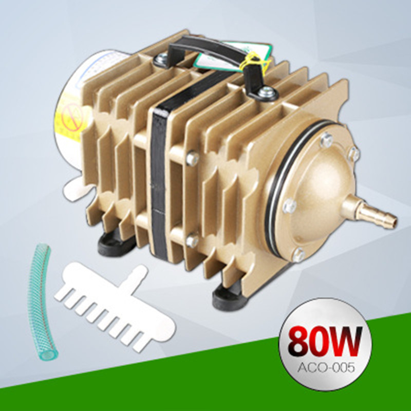 SUNSUN ACO-005 Large Aquarium Aquarium Fish Pond Aeration Pump Electromagnetic Air Pump / Oxygen Pump 80