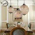 Ретро Винтаж Королевский имперский шар стиль большой светодиодный Кристалл современная люстра лампа люстры огни E27 для гостиной спальни ва...
