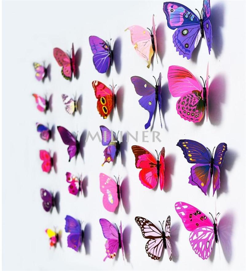 Magnet Butterflies Wall Stickers 1