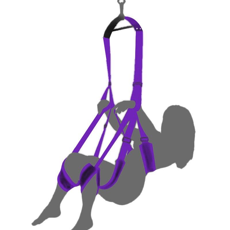 Jouets sexuels SM jeu Bondage balançoire écarteur jambe ouverte pour les femmes hommes amusant adulte produit attache balançoire pour Couple