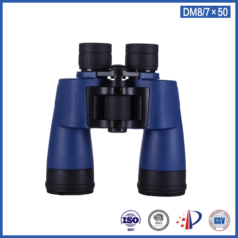 ROUYA high definition powerful 7x50 binoculars telescope compact waterproof monocular with bak4 porro prism бинокль bushnell powerview porro 7x50