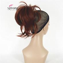 12 Inch Adjustable Messy Style Ponytail Hair Extension Synthetic Hair-Piece with Jaw Claw COLOUR CHOICES