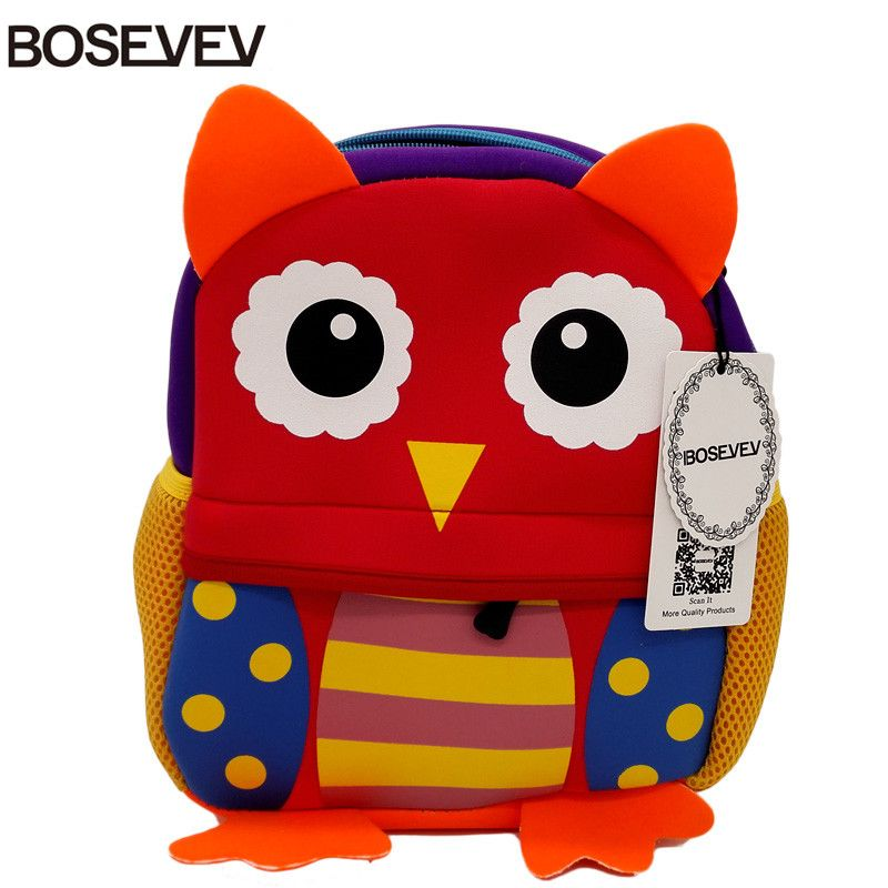 bolsa de neoprene Animal : Owl;monkey;giraffe;sheep;squirrel;tiger;dog;