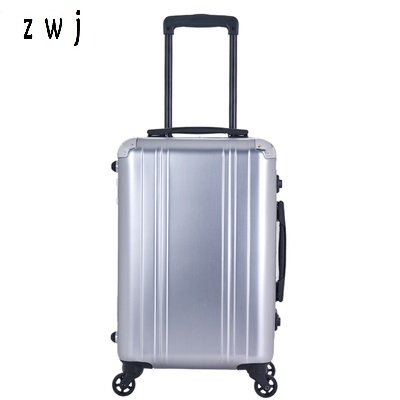 20 inch Retro metallic 100% aluminum luggage rolling suitcases business 20 inch Retro metallic 100% aluminum luggage rolling suitcases business
