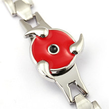 Naruto Sasuke Sharingan Symbol Alloy Bracelet For Fans