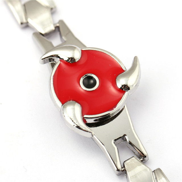 Naruto Sasuke Sharingan Bracelet