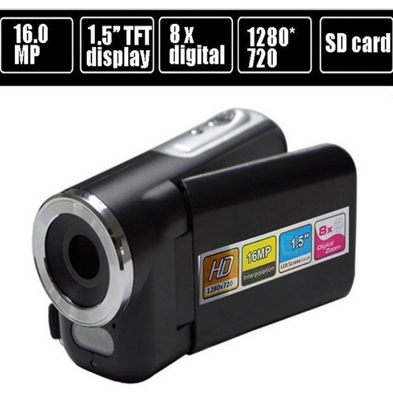 "New 16 MP Digital video Camera Camcorder with 1.5 "" TFT LCD 8xdigital Zoom free shipping DV-138"
