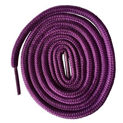 200 см очень длинные круглые шнурки Шнуры Веревки для ботинок martin спортивная обувь - Цвет: 9 purple