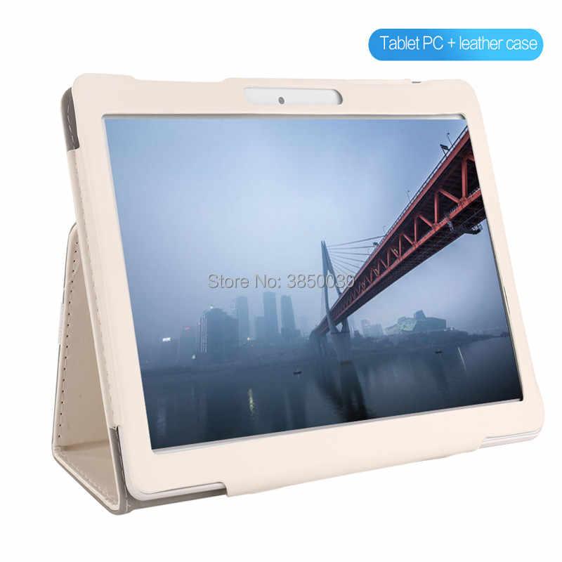 2019 MT8752 10,1 'de la tableta Android 9,0 8 Core 6GB + 64GB ROM Dual Cámara 8MP SIM Tablet PC Wifi micro Usb GPS bluetooth teléfono