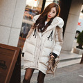 Fashion Maternity Coats Long Hooded Manteau Maternite Thicken Down Coat Maternity Warm Pregnant Jacket Turtleneck Winter Clothes