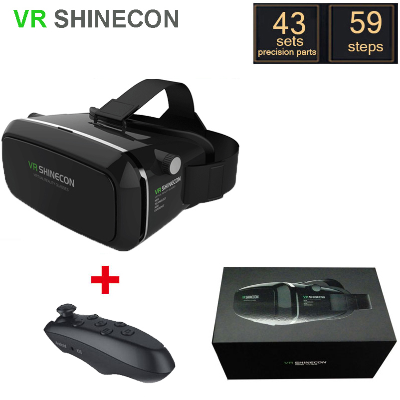 font b VR b font SHINECON Version Virtual Reality 3D Glasses google cardboard font b