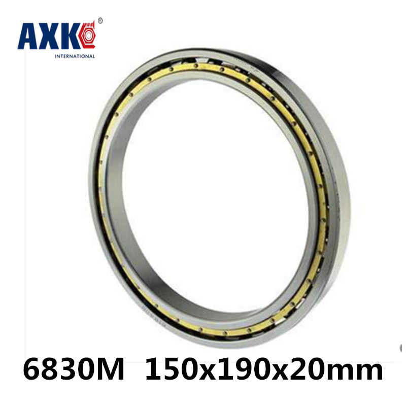 2018 Limited New Arrival Steel Rolamentos 6830m Abec-1 150x190x20mm Metric Thin Section Bearings 61830m Cage 2018 hot sale time limited steel rolamentos 6821 2rs abec 1 105x130x13mm metric thin section bearings 61821 rs 6821rs