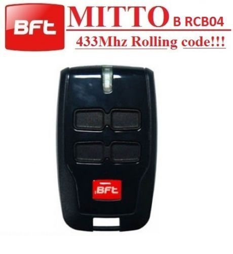 BFT MITTO-2 MITTO-4 remote control duplicator/garage door remote key rolling code 433.92 Universal Remote Control Transmitter v2 replacement remote control transmitter 433mhz rolling code top quality