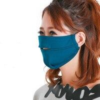 Female Face Outdoor Masks Expose Nose Anti uv Riding Breathe Freely Dustproof Sunshade Mask Sunscreen Anti Coldhot Sale