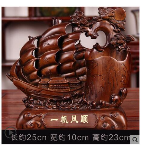 Gift pen holder up by cash register company Sitting room office desk table wine cabinet TV cabinet opening decorat crafts statue - 4
