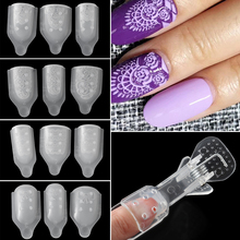 2020 חדש סיליקון עובש אמנות Stamping 3D פרח סטנסיל ציפורניים UV ג ל לכה גילוף תבנית מניקור קישוטי כלי