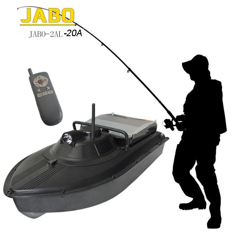 JABO-2AL-20A Pro Wireless RC Fish Finder Fishing Tackle Bait Boat Remote Control