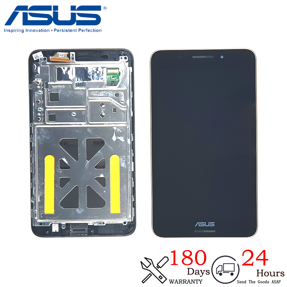 New 7 Inch For ASUS Fonepad 7 FE375 FE375CG FE7530CXG ME375 K019 LCD Display Monitor Touch Screen Digitizer Assembly With Frame