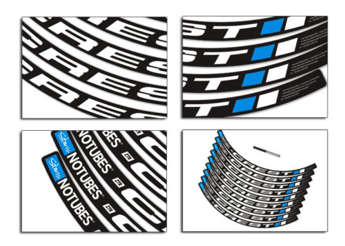 2017 stans NOTUBES CREST mountain bike bicycle wheel rim Decals MTB Stickers fit for 26/27.5/29 inch wheel groups Free shipping