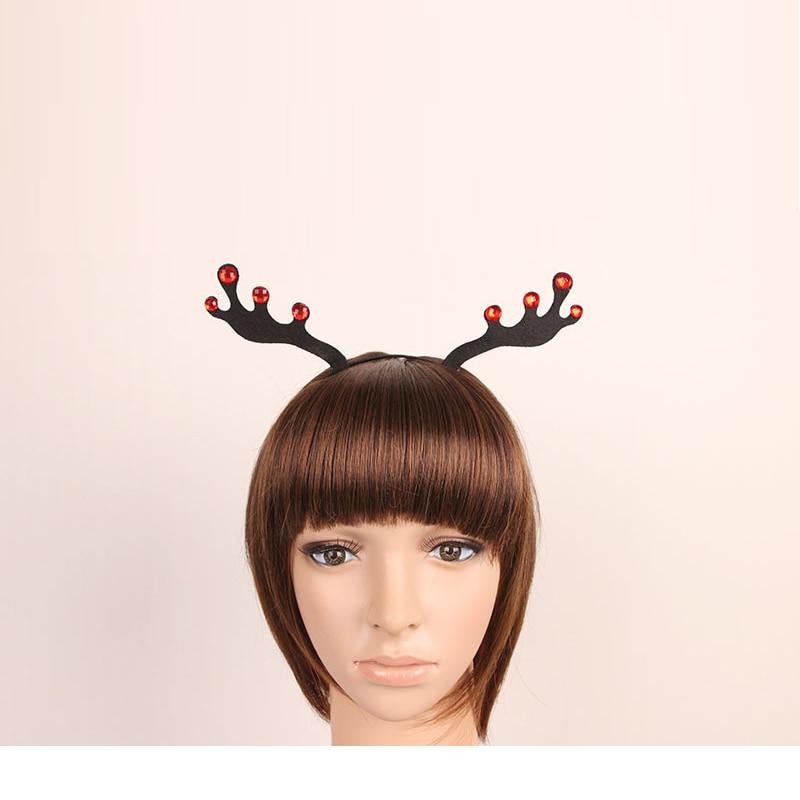 Party Hair Ornaments Cute Little Plum Deer Corners Belt Drill Hoop Nightclub Million Christmas Lovely Girls Jewelry Accessories