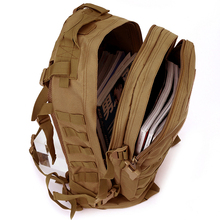N 2017 Rucksack Outdoor Travel Camping Hiking Trekking Bag 40L Molle 3D Nylon Army Military Tactical Large Capacity Backpack