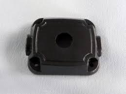 Precision Aluminium CNC Part with Black Anodized 55ml aluminium sub tank printer part