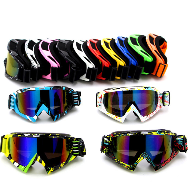 motocross goggles  Aliexpress.com : Buy New Motorcycle motocross goggles glasses ...