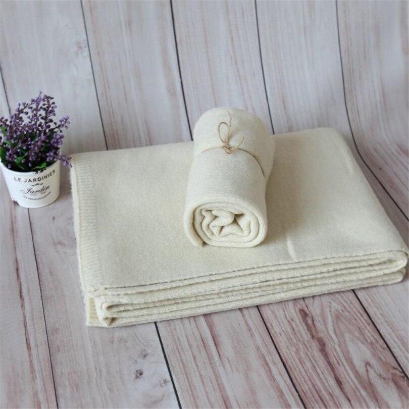 Bébé tricot couverture toile de fond nouveau-né stretch tricot wrap Jersey wrap photographie accessoires bébé swaddle couverture couche tissu photo accessoires