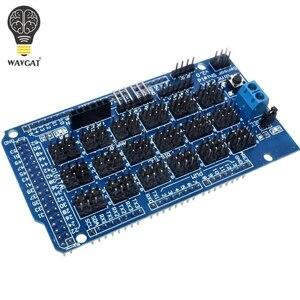 For Arduino MEGA Sensor Shield V1.0 V2.0 Dedicated Expansion Development Board MEGA 2560 Sup IIC Bluetooth SD Robot Parts DIY(China)