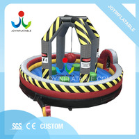 Cheap Inflatable Rock Wrecking Ball for Team Sports,Inflatable Trampoline Sport Games for Four People on Sales