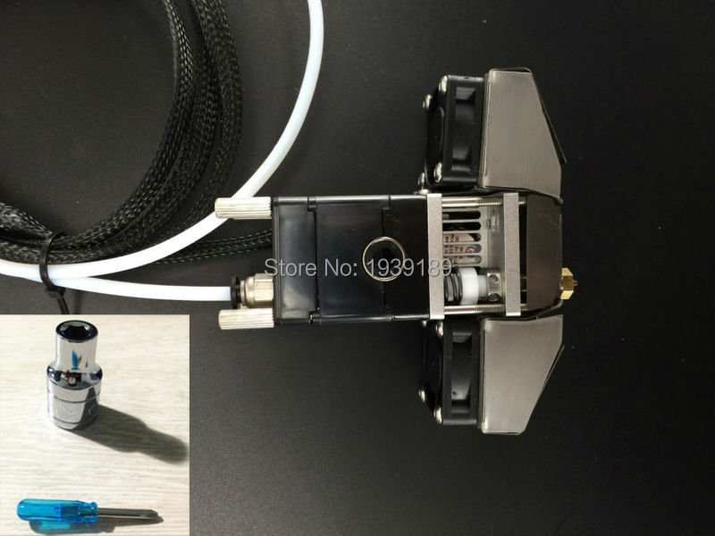 3D Printer Part Olsson Block Nozzle Pack Complete Hotend Header with Tools For Ultimaker 2+ UM2+ Extended 1.75mm filament system