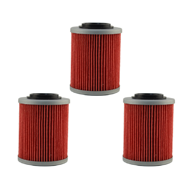 3 pcs high performance powersports cartridge oil filter. Black Bedroom Furniture Sets. Home Design Ideas