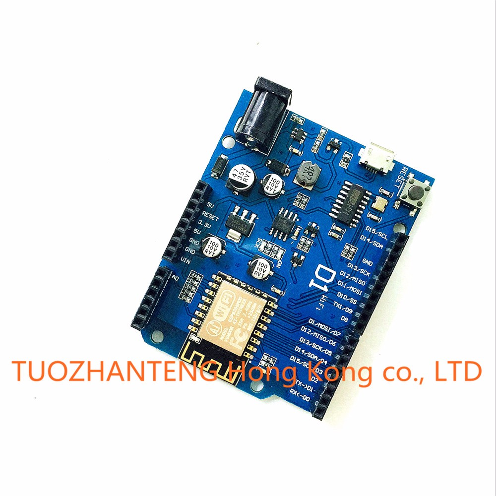 5pcs ESP-12E WeMos D1 WiFi uno based ESP8266 shield for arduino Compatible