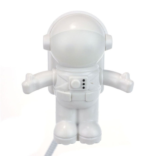Suppion Astronaut USB LED Light Lighting Lamp Laptop Desktop Computer Accessory Free shipping Wholesale