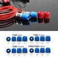 20 par/40 pcs. dicas de espuma de isolamento para fone de ouvido fone de ouvido fones de ouvido de graves aprimorada Almofadas T100 T200 T400/T500 (S M L)