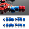 20 Pair 40 Pcs Insulation Foam Tips For In Ear Earphone Headset Earphones Enhanced Bass Ear