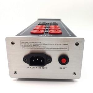 Image 4 - Mistral WAudio W 3900 haut de gamme Audio filtre à bruit climatiseur de courant alternatif filtre de puissance purificateur de puissance avec prises américaines multiprise