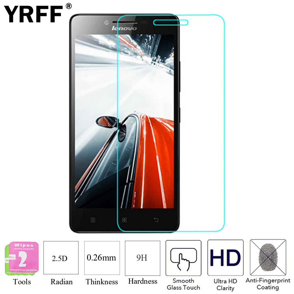 2PCS Premium Tempered Glass Protective Screen Protector Film For <font><b>Lenovo</b></font> A6000 A6010 A6020 K5 Plus A606 <font><b>A616</b></font> A680 A 606 616 680 image