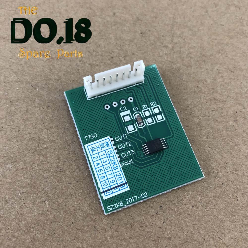 1 * Chip Decoder Board Für Hp T610 T770 T790 T795 T1200 T1300 T2300 72 Chip Resetter Entschlüsselungskarte