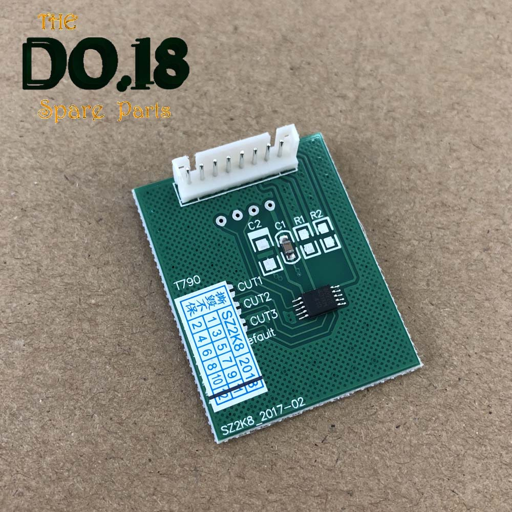 1* <font><b>chip</b></font> decoder Board for <font><b>HP</b></font> T610 T770 T790 T795 T1200 T1300 T2300 <font><b>72</b></font> <font><b>chip</b></font> resetter decryption card image