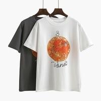 2018 New Fashion Women Letter Printed T Shirts Casual Cartoon Summer T Shirt Tees Short Sleeved