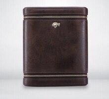 Creative High Grade Cigar Accessories Travel Leather Case Quality Cedar Portable Humidor Smoking Supply LFB446