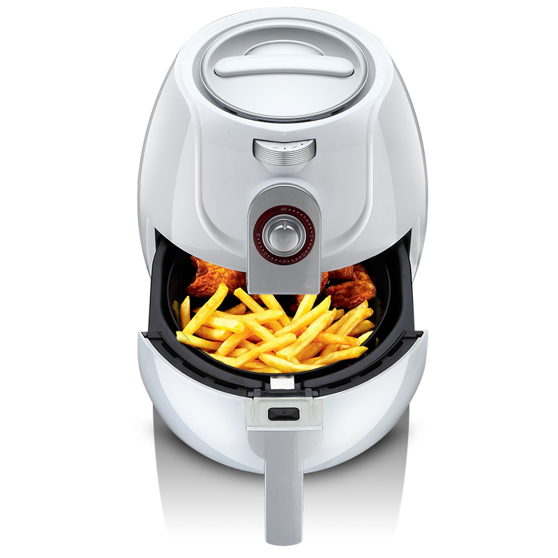 220V 3.2L Multifunctional Electric Deep Fryer Oil Free Smokeless Electric Air Fryer French Fries Machine EU/AU/UK/US Plug