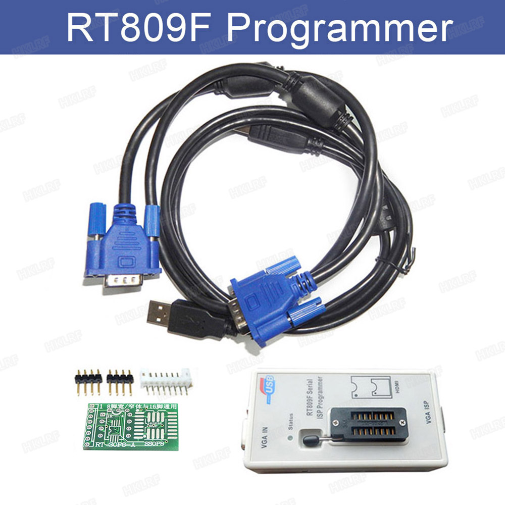 RT809F Serial ISP Programmer Tool for PC MainBoard LCD Controller Read and Write Kits USB EPROM