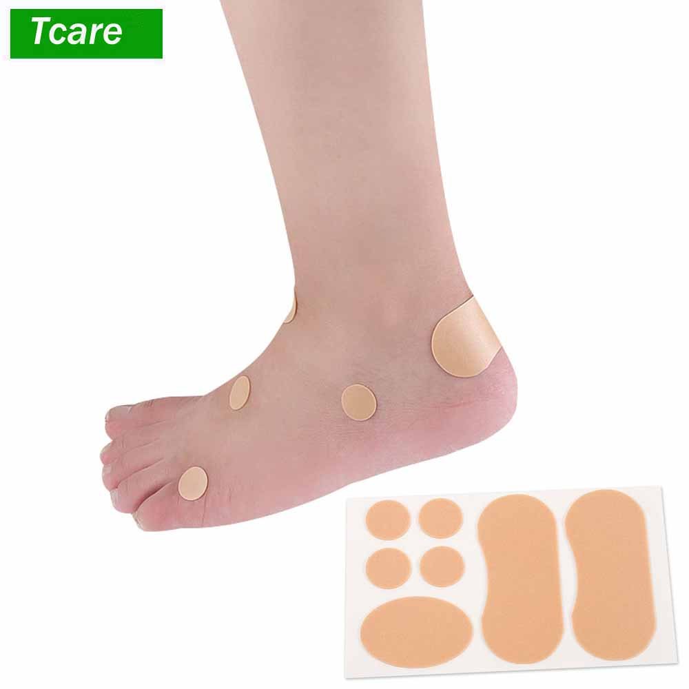 4Set/Lot Cotton Heel Cushion Heel Sticker Blister Pads Adhesive Hydrocolloid Foot Patch Dressing Blister Feet Care Protector apecs pdb 20 20 blister