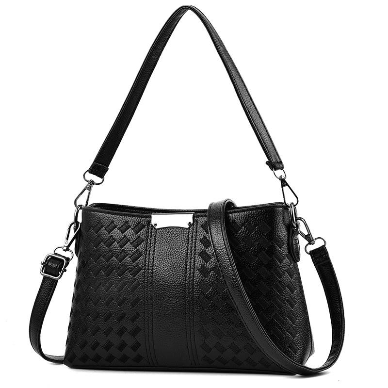 New Soild Color Embroidered Handbags, Women Messenger Bag, Mothers Shoulder Bag For Gift