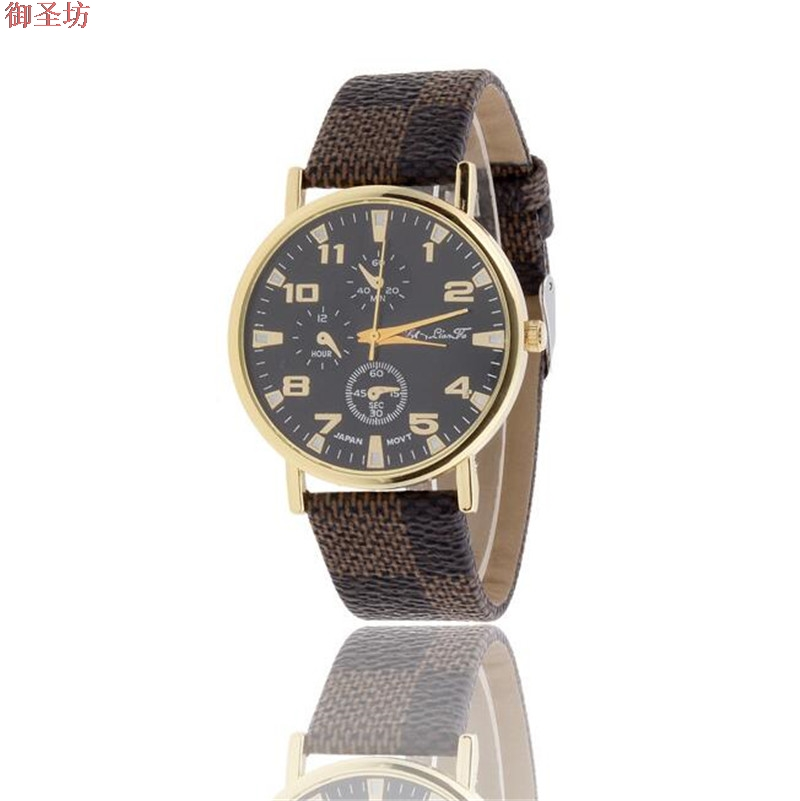 Brown Leather Strap Men Quartz Watch Mens Watches Top Brand Luxury Erkek Kol Saati Horloge Montre Homme Clock Megir Hodinky B190 fashion men watch luxury brand quartz clock leather belts wristwatch cheap watches erkek saat montre homme relogio masculino