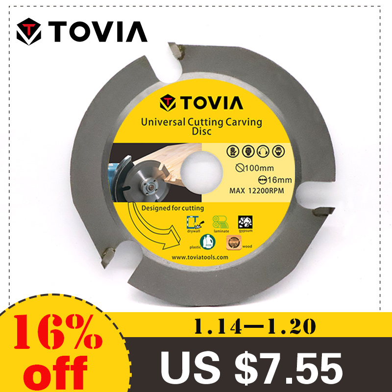 3T 100mm Circular Saw Blade Multitool Grinder Saw Disc Carbide Tipped Wood Cutting Disc Wood Cutting Power Tool Accessories